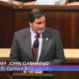 Rep. Garamendi speaks on the house floor about climate change