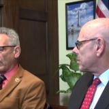 Rep. Lowenthal and former Rep. Henry Waxman